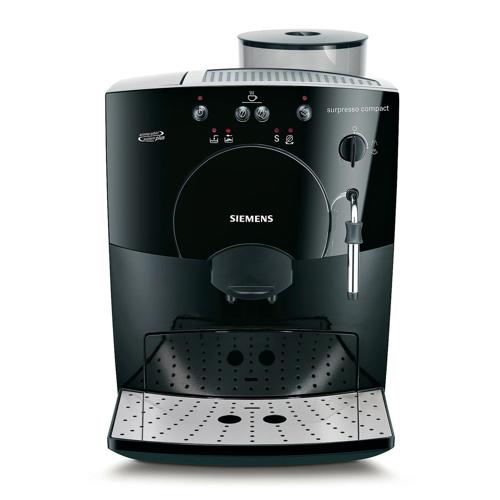 Kaffemaskin med bønner